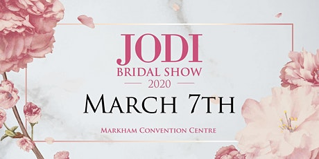 JODI Bridal Show 2020 tickets