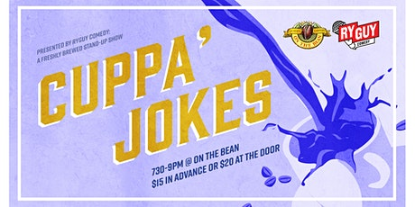 Cuppa Jokes - On The Bean tickets