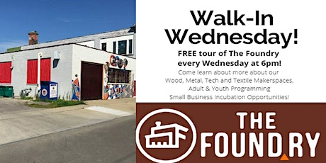 Postponed - Walk-in Wednesday - Free Tour @The Foundry tickets