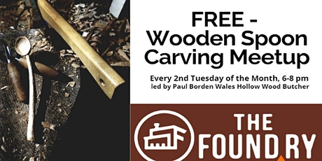 Postponed - Wooden Spoon Carving Meetup @The Foundry tickets