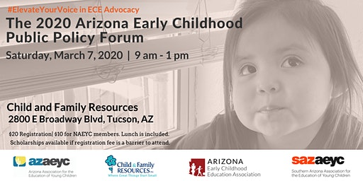 The 2020 Arizona Early Childhood Public Policy Forum