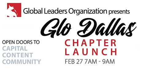 02/27/20 Dallas GLO Chapter Meeting tickets