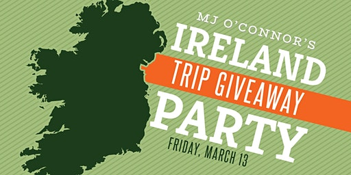 Ireland Trip Giveaway at MJ's