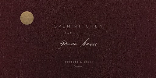 Open Kitchen - 29/02 - Ghina Bazzi