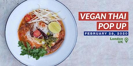 Vegan Thai Pop Up tickets