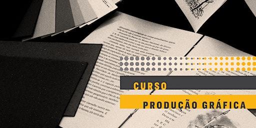 CURSO | Produção gráfica