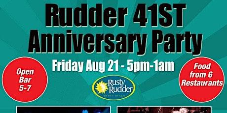 Rudder 41st  Anniversary Party tickets
