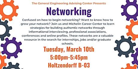 GE Networking Workshop tickets