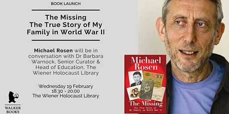 Book Launch: The Missing: The True Story of My Family in World War II tickets