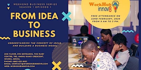 FROM IDEA TO BUSINESS tickets