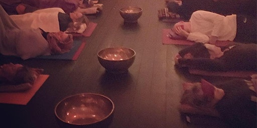 Sound Immersion and Restorative yoga