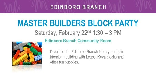 Master Builders Block Party (EDB)