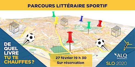 Parcours littéraire sportif  billets