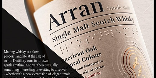 Whisky Masterclass (Isle of Arran) @ MMI Bar Academy  on 3 Feb at 9am