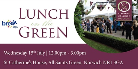 Lunch on the Green 2020 tickets