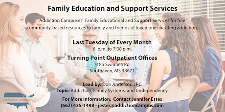 Turning Point's Family Addiction Education tickets