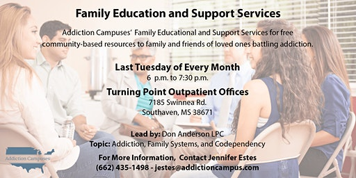 Turning Point's Family Addiction Education