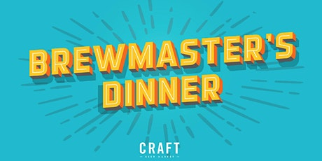 Copper Brewing Brewmaster's Dinner | CRAFT Beer Market Kelowna tickets