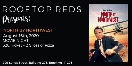 Rooftop Reds Presents: North by Northwest
