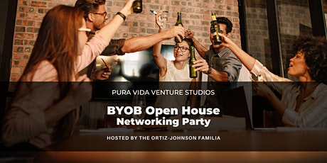 BYOB Open House Networking Party ONLINE tickets
