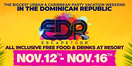 Escape To DR aka EDR Getaway tickets