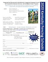 2020 Fencing School Campton KY