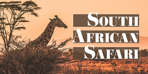 Little Dinner Series | South African Safari | 4.9.20