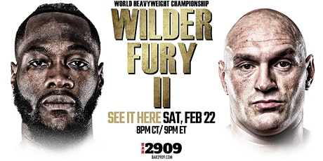 Wilder vs Fury 2 Live PPV Boxing Event tickets