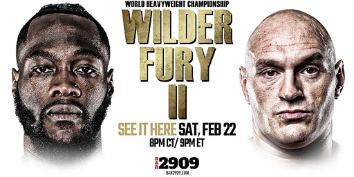 Wilder vs Fury 2 Live PPV Boxing Event