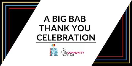 A Big BAB Thank You Celebration