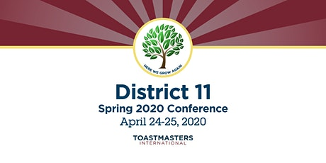 District 11 Spring Conference 2020  tickets