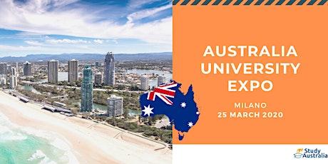 AUSTRALIA UNIVERSITY EXPO 2020 tickets