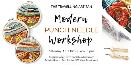 Modern Punch Needle Workshop - postponed tickets