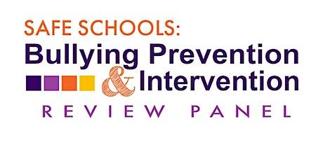 Safe Schools - Alternative Education Community tickets