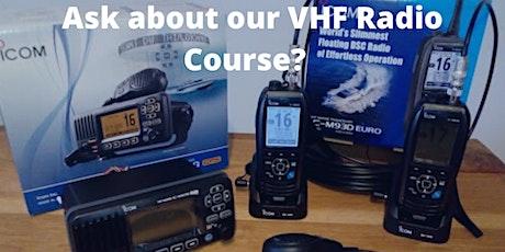 VHF Radio Course tickets