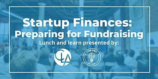 Startup Finances: Preparing for Fundraising