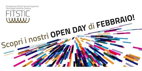 Open Day ITS - Tecnico Superiore per lo Sviluppo Software - MODENA biglietti