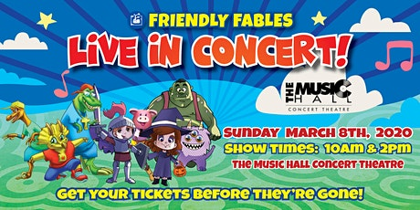 Friendly Fables - Live In Concert - 10 am Event tickets