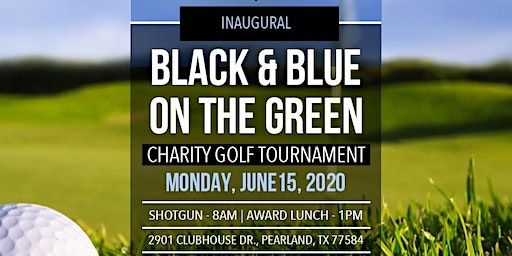 HBREA Inaugural Black & Blue on the Green Charity Golf Tournament