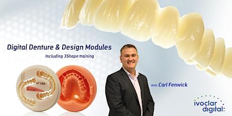 Digital Dentures - Complete Workflow - Module 2  tickets