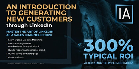 Winning New Business On LinkedIn -  An Introduction tickets