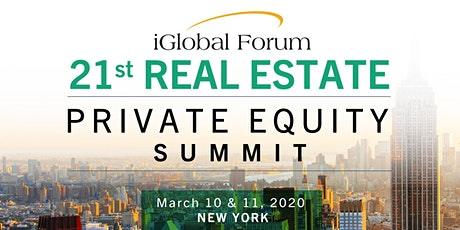 21st Real Estate Private Equity Summit tickets