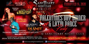 Valentines Day Dinner & Latin Dancing @ Sanctuary...