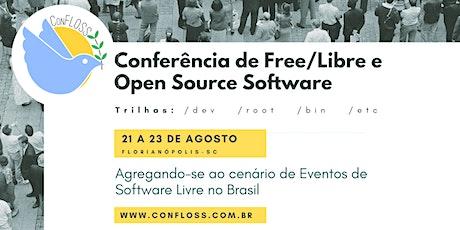 ConFLOSS - Conferência De Free/Libre E Open Source Software 2020 ingressos