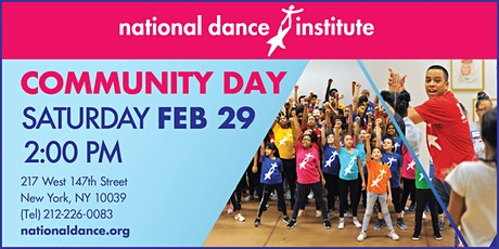 National Dance Institute Community Day tickets