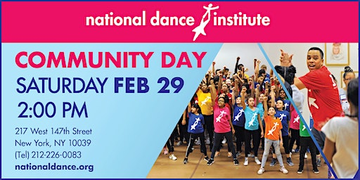 National Dance Institute Community Day