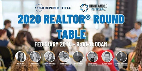 2020 Realtor® Round Table tickets
