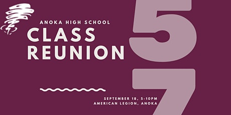 Anoka High School Class of 1963 Class Reunion tickets