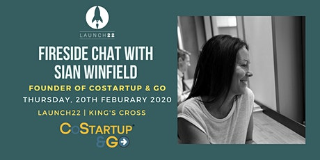 FIRESIDE CHAT with Sian Winfield tickets