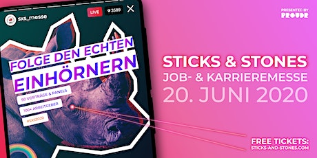 STICKS & STONES 2020 - Europe's largest LGBT+ job & career fair tickets